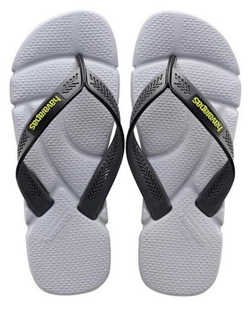 3911444b9c5 Havaianas Men`s Brazilian Flip Flops Power Sandal Steel Grey   Grey Any  Size NWT