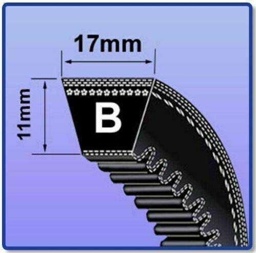 BX55 V BELT 17MM X 11MM VEE BELT COGGED BX SECTION V BELT SIZES BX22