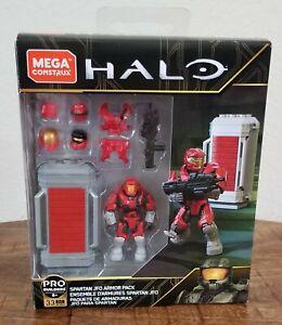 HALO MEGA CONSTRUX SPARTAN JFO EVA SCOUT RED ARMOR PACK GLB66