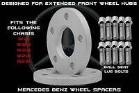 Mercedes Benz W218 & W219 Cls 500 2005-2015 Cls63 10mm Wheel Spacers Front Hubs