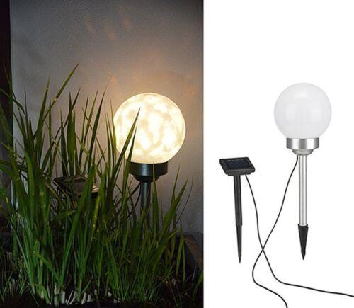 LED Solare Lampada A Sfera Sfera Lampada Giardino Illuminazione Esterna MULTICOLOR 15cm