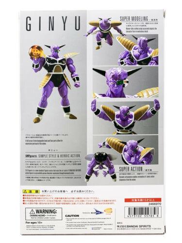 Bandai Tamashii Dragon Ball Z S.H.Figuarts Ginyu Action Figure New In Stock USA