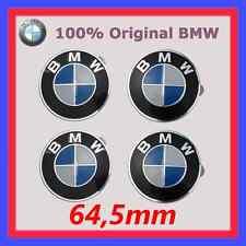 4x Original BMW Plakette mit Klebefolie Geklebt 64,5mm 1er 3er 5er 7er X5 UVM