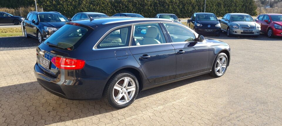 Audi A4 2,0 TDi 143 Avant Multitr. Diesel aut. Automatgear