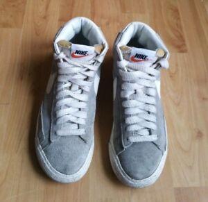 Nike Blazer High Top Grey Suede