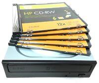 Lg Internal Sata 24x Dvd Cd +/-r & Rw Dl Disc Burner Re-writer Drive + 5 Cdrw
