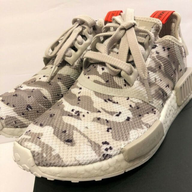 Adidas NMD_R1 Women's Sneakers (Size 5 11) White Red Camo Pack G27932