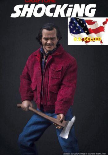 1//6 Jack Nicholson The Shining Figure Set avec 2 têtes Hot Hache Toys ❶ USA en stock ❶