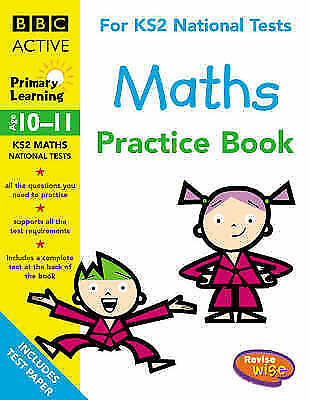1 of 1 - REVISEWISE PRACTICE BOOK MATHS, VARIOUS, Very Good Book