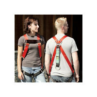 Super Anchor Safety 6008-l Fall Arrestor Body Harness W/ Shock Absorber - Large on Sale