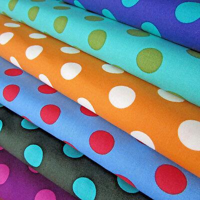 Tula Pink Fabric All Stars Poppy Pom Poms Per 1//4 Metre