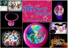 Trolls  -36 Party Favors-  Kids Birthday Prize Toys Supplies Grab Bag  Pinata