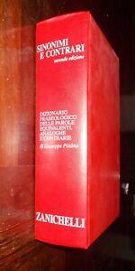 DIZIONARIO-SINONIMI-E-CONTRARI-GIUSEPPE-PITTANO-1998-ZANICHELLI