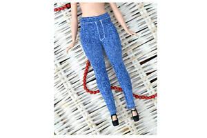 Curvy Barbie Fashionista Doll Clothes curvy barbie denim jeans leggings