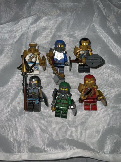 Lego Ninjago Sommer 2020 Set 6 Minifigs; Jay, Lloyd, NYA, Kai, Cole, Zane USA