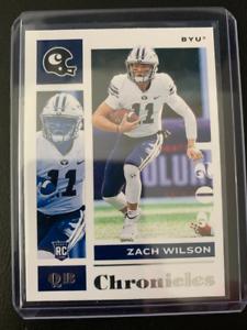 Zach Wilson - 2021 Panini Chronicles Draft Picks - Chronicles Base Rookie