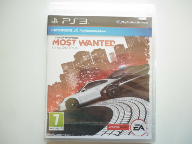"Need for Speed Most Wanted Jeu Vidéo ""PS3"" Playstation 3"