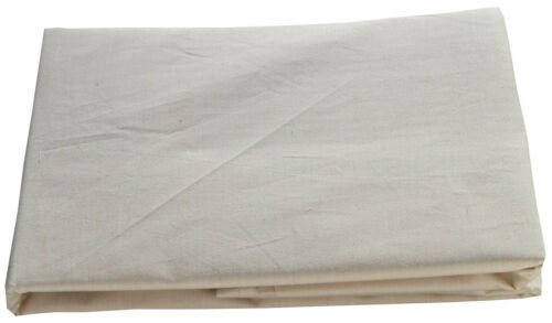 2 x Standard Pillow Cases 50x75cm Natural Brown Organic Cotton Luxury Percale