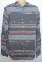 Mens Aeropostale Long Sleeve 2 Pocket Woven Shirt 6843
