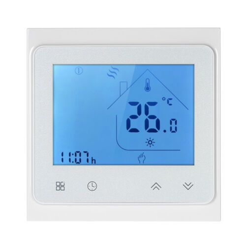 Dry Contact Gas Boiler Heating Thermostat with Touchscreen LCD Display P1R5