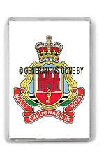 ROYAL GIBRALTAR REGIMENT (CREST) FRIDGE MAGNET