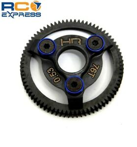 Hot-Racing-Traxxas-2wd-Rustler-Slash-Stampede-48p-Steel-76t-Spur-Gear-STE876