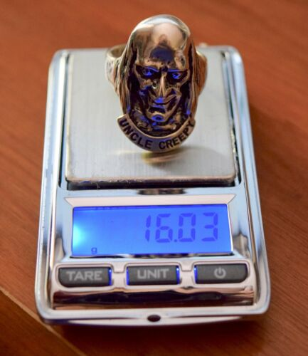 Sterling Silver UNCLE CREEPY RING New Comic Corp 2007 NEW Free Ship
