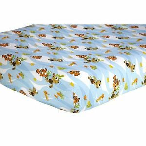 Disney Baby Finding Nemo Fitted Crib Sheet Ebay