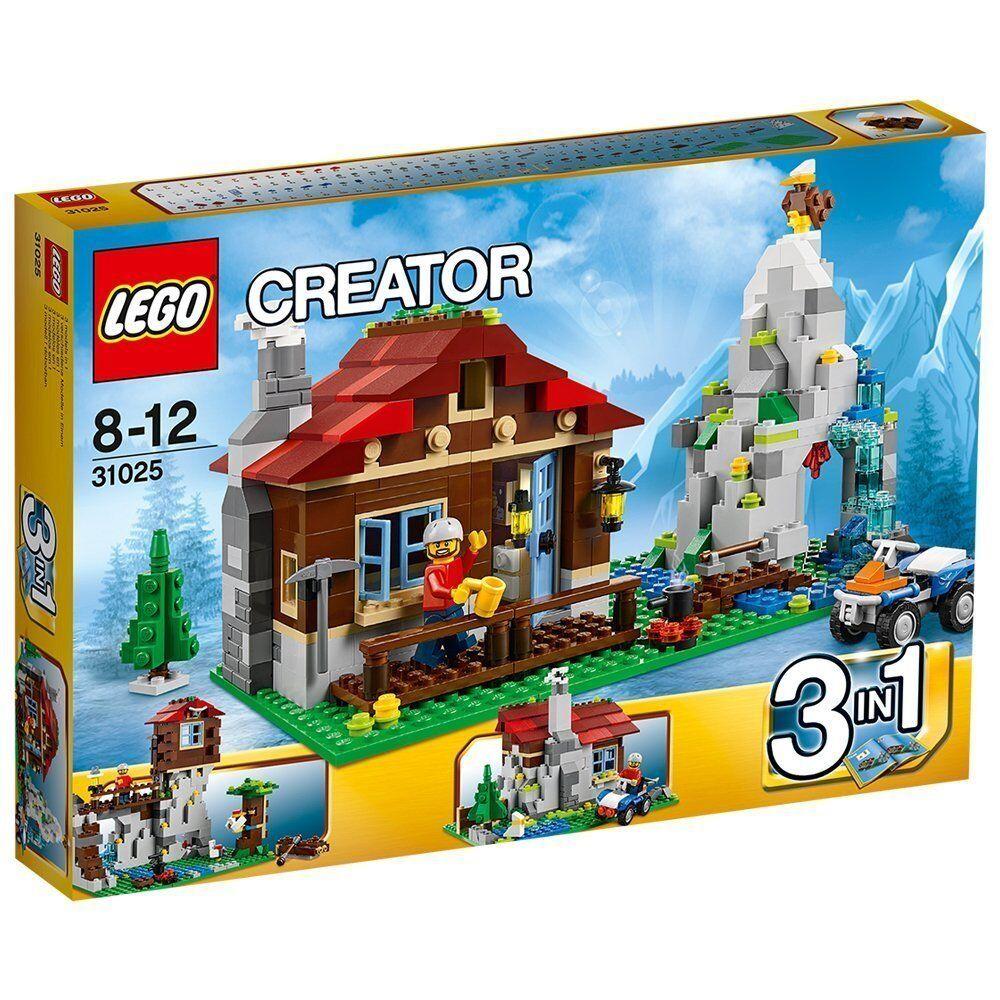 Lego Lego Lego Creator 31025 Refugio Montaña Nuevo Embalaje Original Misb  orden ahora disfrutar de gran descuento