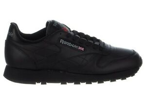 4a3c7ef5c Image is loading Reebok-Men-039-s-CLASSIC-LEATHER-Shoes-Black-