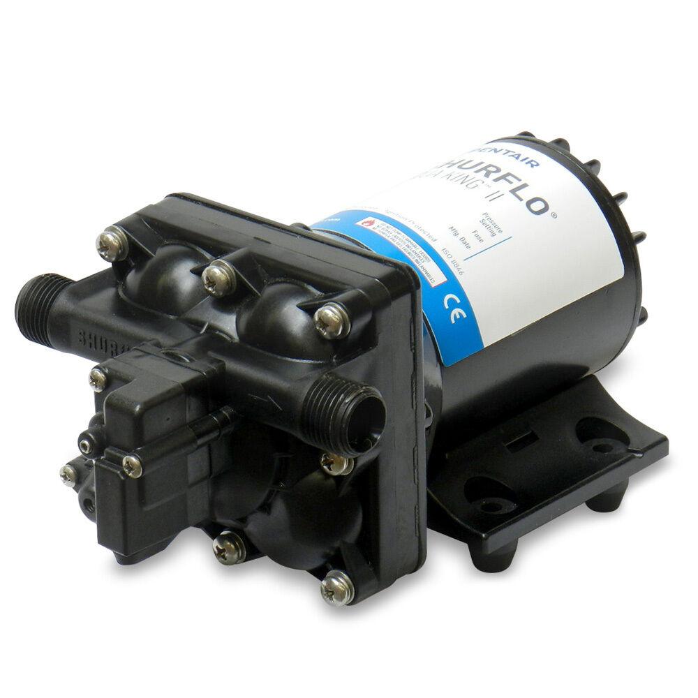 Shurflo Aqua King; II Bomba De Agua Dulce Junior - 12 VCC, 2.0 GPM