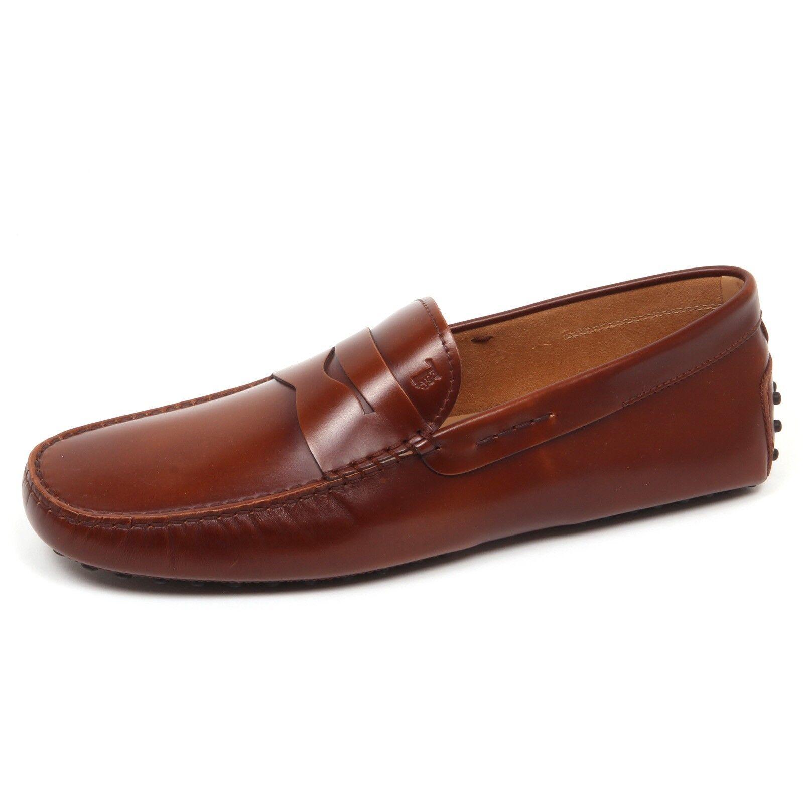 E3648 mocassino uomo brown TOD'S scarpe shoe loafer man