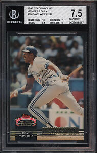 1992-Stadium-Club-Members-Only-Dave-Winfield-Near-Mint-BGS-7-5-Subs-10-9-Toronto