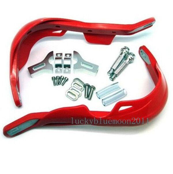HONDA HAND GUARD Handguard XR CR CRF 250 350 400 600 650 DIRT BIKE OFFROAD Red