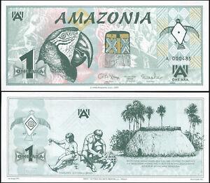 Amazonie-1-Ara-NEUF-24-10-2005-Billet-de-banque-Cat-P-NL-Serie-A