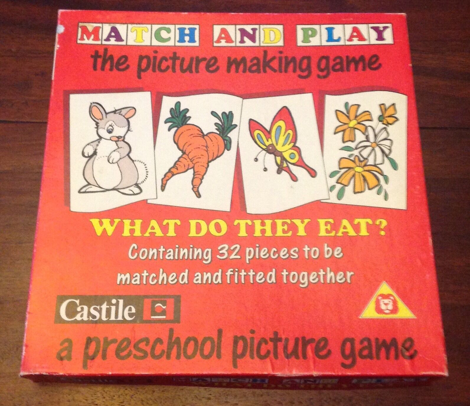 Castile Match and Play The Picture Making Game Vintage complete 7