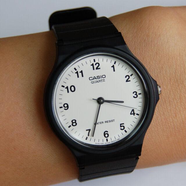 NEW CASIO Men's Women's Unisex Fashion Casual Silicon Rubber Wrist Watch MQ-24