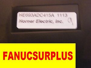 GE FANUC HORNER HE693ADC415E HE693ADC415 ANALOG 1 YEAR WARRANTY