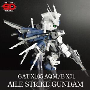 SD GUNDAM BB SENSHI GAT-X105 AQM/E-X01 AILE STRIKE Gundam FAN REMADE