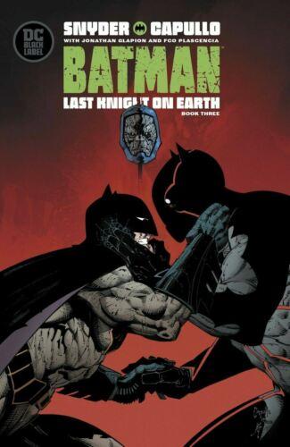 Batman Last Knight on Earth #1-3 Select Main /& Variant Covers DC Comics 2019 NM