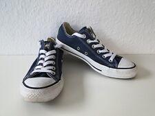 Converse All Star Chucks Sneaker Turnschuhe Slim Low Stoff Blau Gr. 4,5 / 37
