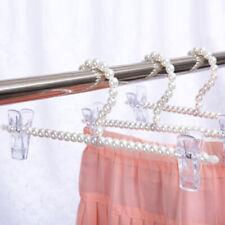 24//30cm Perlen Kleiderbügel Anti-Rutsch Klemmbügel für hängende Kleidung,Hosen