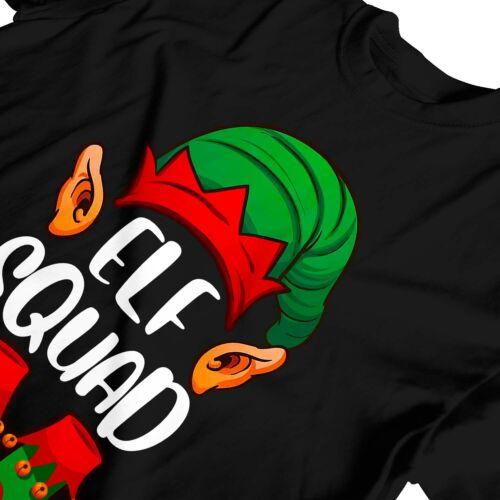 1Tee Kids Girls Christmas Elf Squad T-Shirt