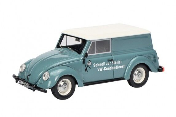 450900900 VW Small Cars  Volkswagen Service , Pigeon bluee 1 43 Schuco