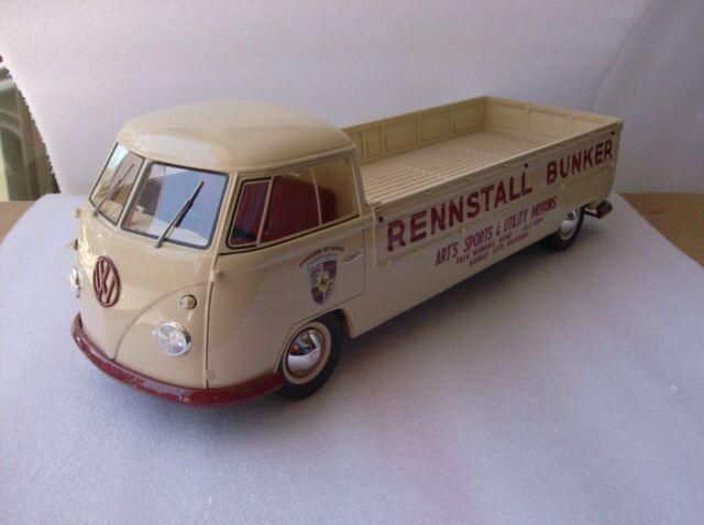 1:18 Premium Classixxs Volkswagen VW T1 Pianale lungo Rennstall Bunker Lmtd.500S
