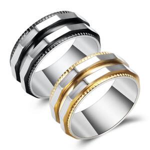 Titan Stahl Ring Unregelmassige Vintage Hochzeitsgeschenke Manner