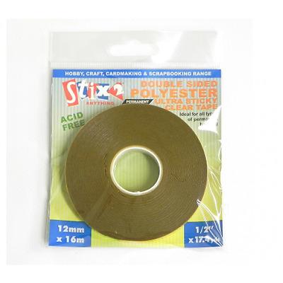 Translucent Wide Sticker Tape Black Lace 3-48mm Wide 16 Yard