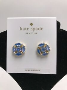 1c1c32d52ef55 Details about kate spade new york Womens Marquise Cluster Stud Earrings,  Blue S1A