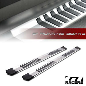 For-2015-2019-Ford-F150-F250-Crew-Cab-6-034-OE-Aluminum-Side-Step-Running-Boards-jz