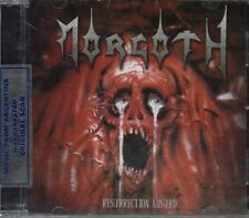 MORGOTH RESURRECTION ABSURD/THE FALL ETERNAL + 4 BONUS VIDEO LIVE SEALED CD NEW
